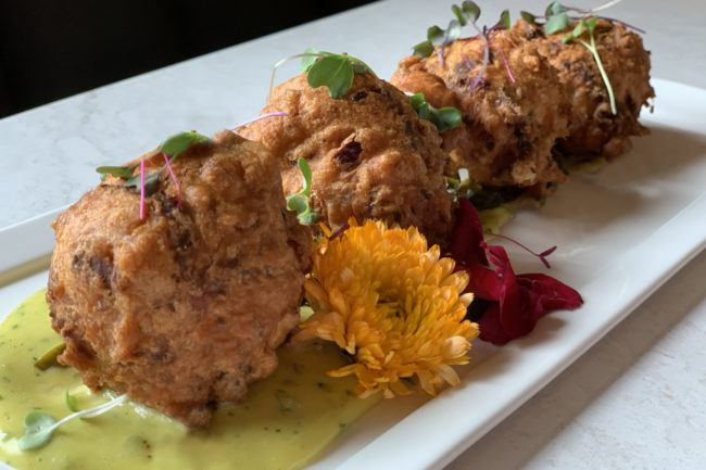 Lobster Zucchini Fritters